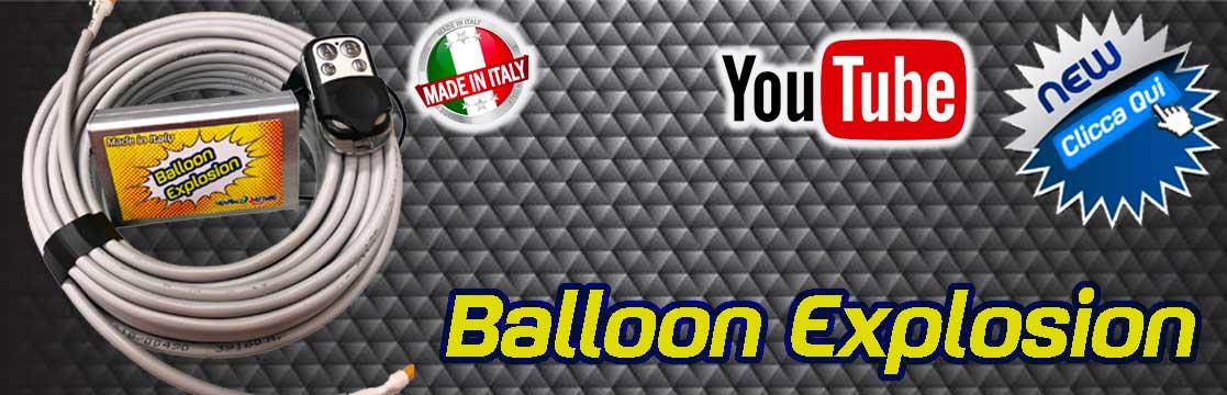 kit pallone esplosivo newballoonstore