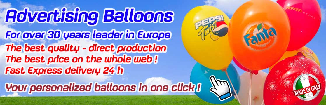 advertising latex balloons