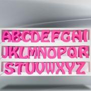 lettere-fucsia-pastello-120mm