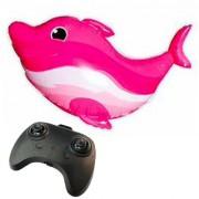 delfino-rosa-radiocomandato-newballoonstore