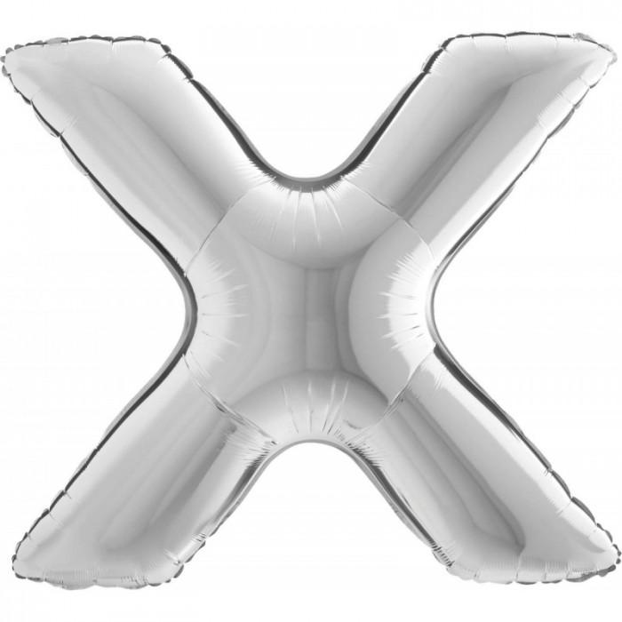 pallone-mylar-100cm-lettera-x-newballoonstore