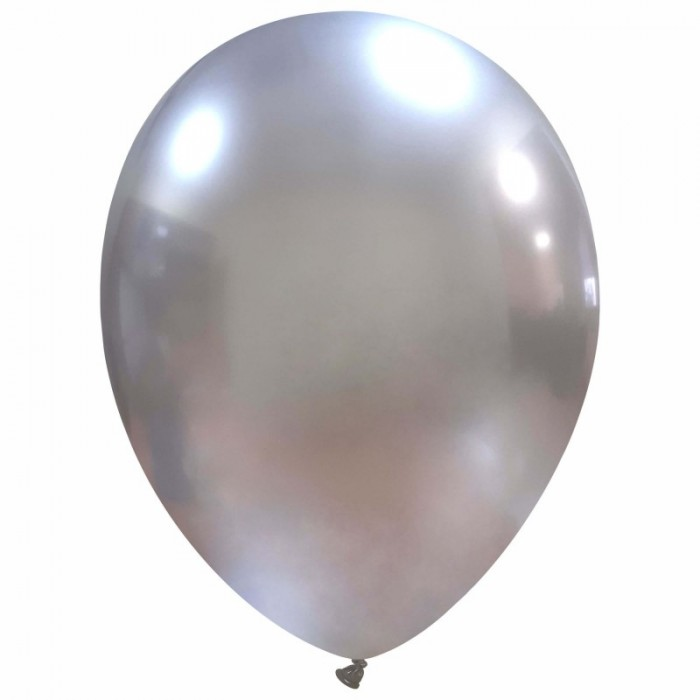 newballoonstore-chrome-argento