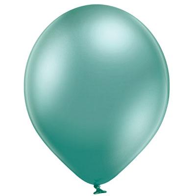 palloncino-chrome-verde-newballoonstore