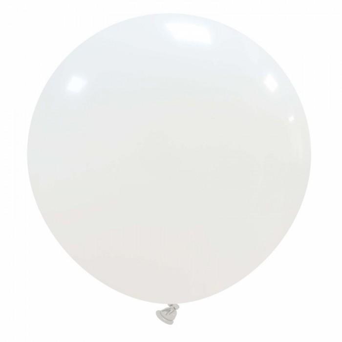 pallone gigante 80 cm bianco
