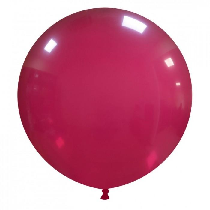 pallone gigante 80 cm bordeaux