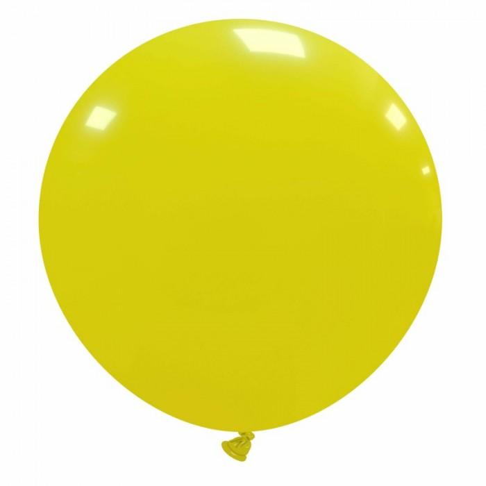 pallone gigante 80 cm giallo