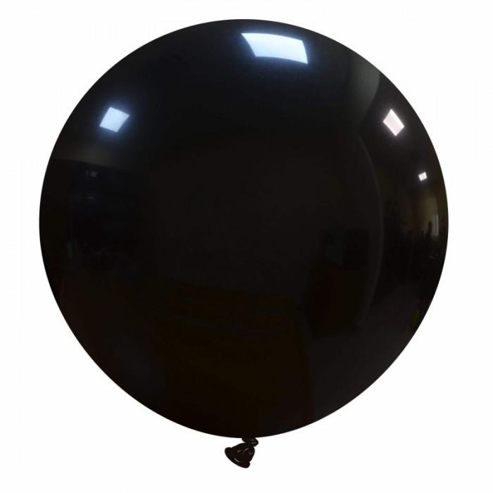 pallone gigante 80 cm nero