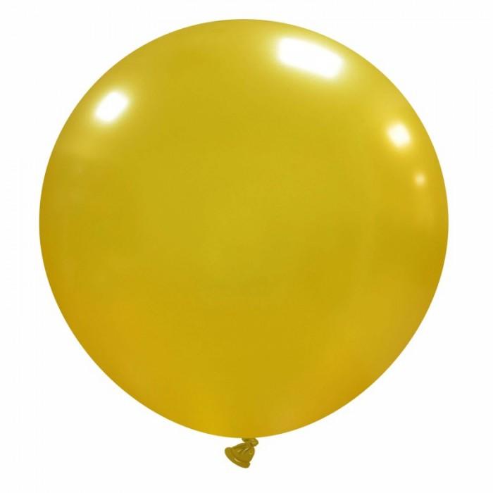pallone gigante 80 cm oro