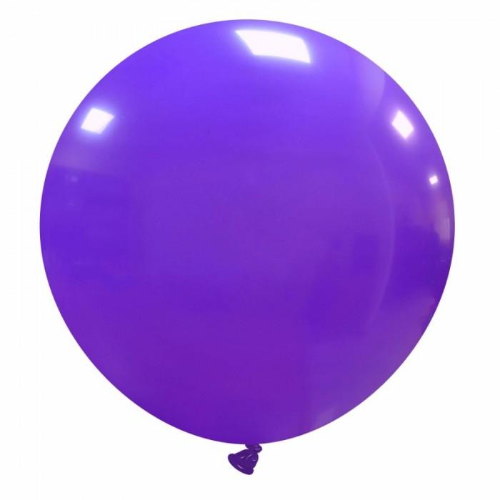 pallone gigante 80 cm viola