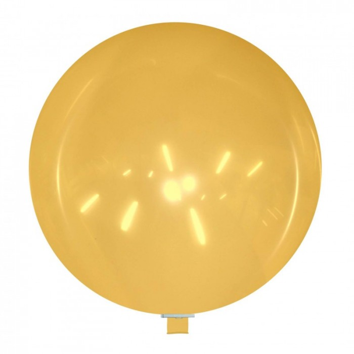 palloncino gigante 85 cm arancione cristallo