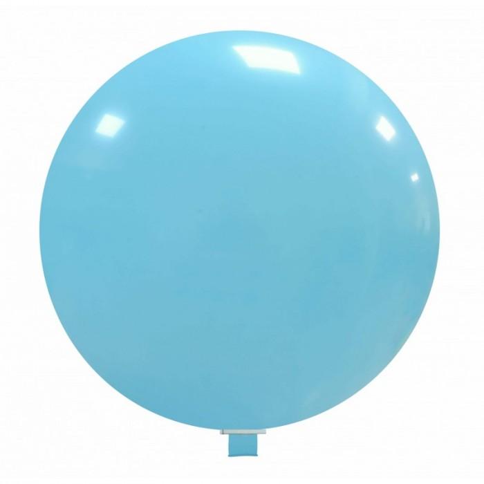 palloncino gigante 85 cm azzurro