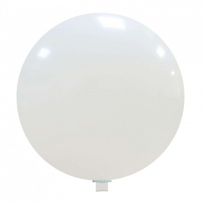 palloncino gigante 85 cm bianco