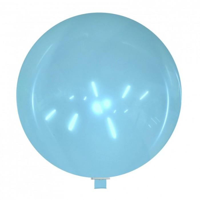 palloncino gigante 85 cm azzurro cristallo