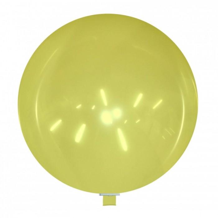 palloncino gigante 85 cm giallo cristallo