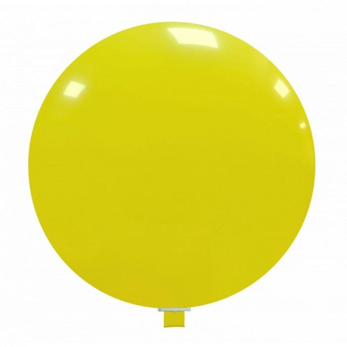 palloncino gigante 85 cm giallo