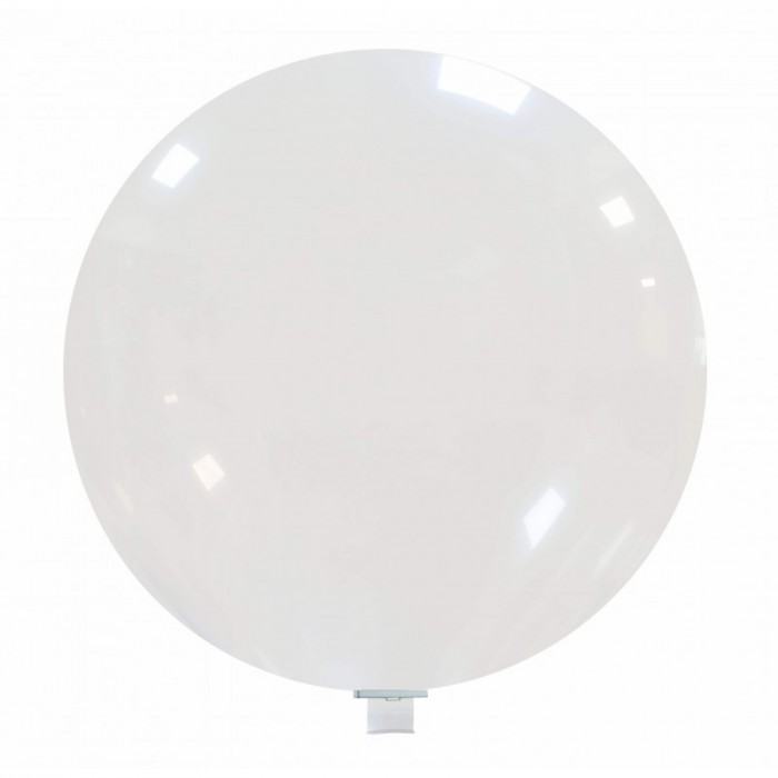 palloncino gigante 85 cm trasparente