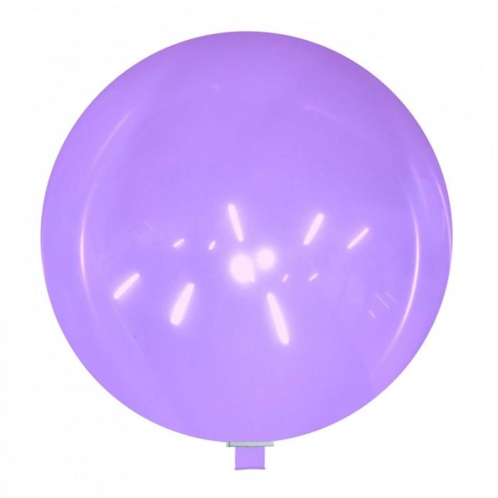palloncino gigante 85 cm lavanda cristallo