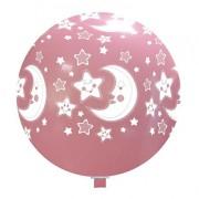 newballoonstore-luna-stelle-rosa