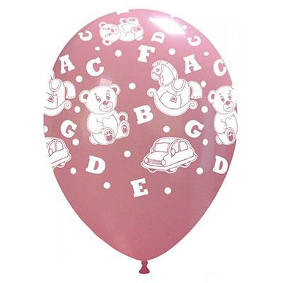 newballoonstore-orsetti-lettere-rosa