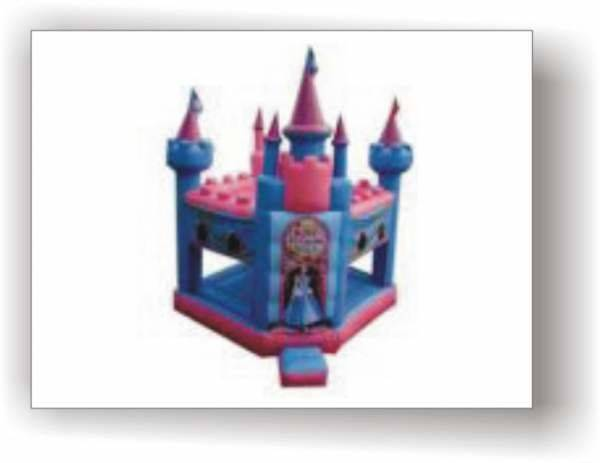 Inflatable castle newballoonstore party balloons online for Balloon decoration courses in london