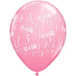 "Palloncini 12"" It's a Girl"