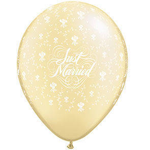 "Palloncini 12"" Just Married"