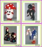 Costumi Mascotte serie D