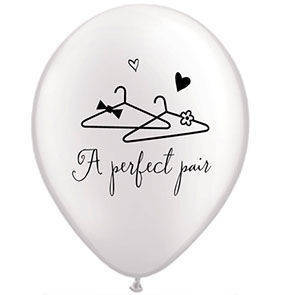 "Palloncini 12"" A Perfect Pair"