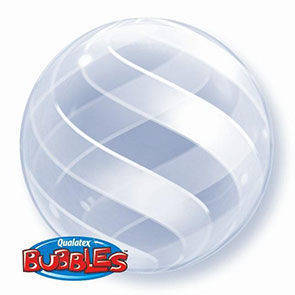 Pallone mylar BUBBLES 51 cm deco Swirls