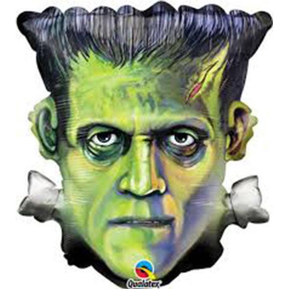 """Pallone mylar Frankenstein Head 25"""" (64cm)"""