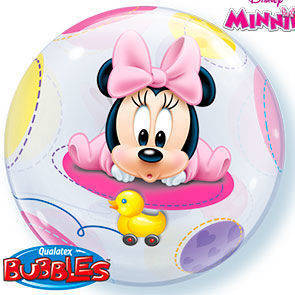 "Bubbles 22"" Baby Minnie"