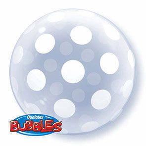 Pallone mylar BUBBLES 51 cm deco Dots