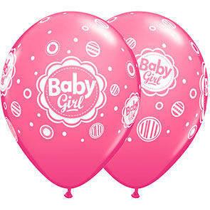 """Palloncini 12"""" Baby Girl"""