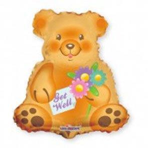 """Pallone in mylar mini shape """"Teddy Bear"""""""
