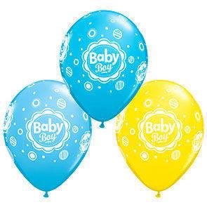 "Palloncini 12"" Baby Boy"