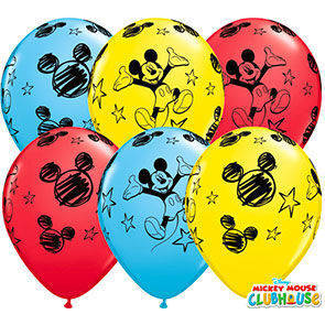 "Palloncini 12"" colori assortiti ""Topolino Clubhouse"""