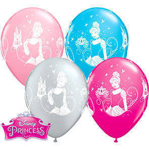 "Palloncini 12"" colori assortiti ""Principesse"""