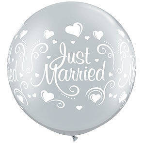 PALLONE 90 CM JUST MARRIED