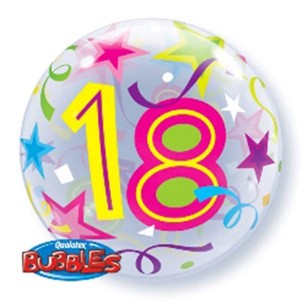 """Bubbles 22"""" 18 Anni"""