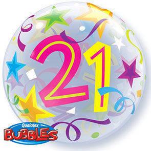 "Bubbles 22"" 21th Birthday"