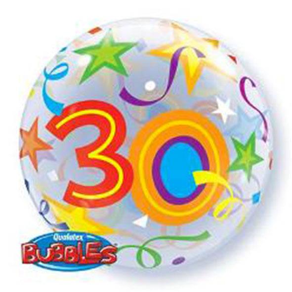 """Bubbles 22"""" 30 Anni"""