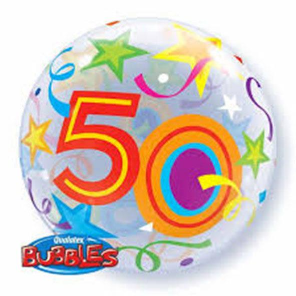 """Bubbles 22"""" 50 Anni"""