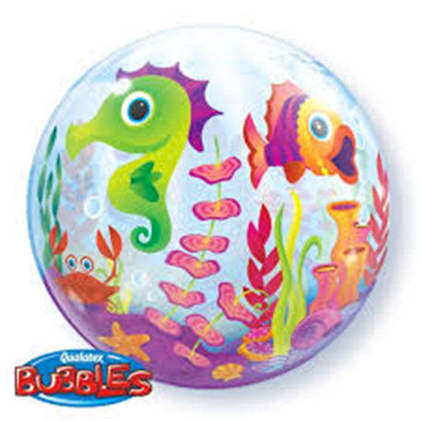"Bubbles 22"" Fun Sea Creatures"