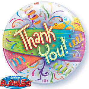"Bubbles 22"" ""Thank You"""