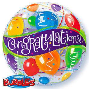 """Bubbles 22"""" Congratulazioni"""