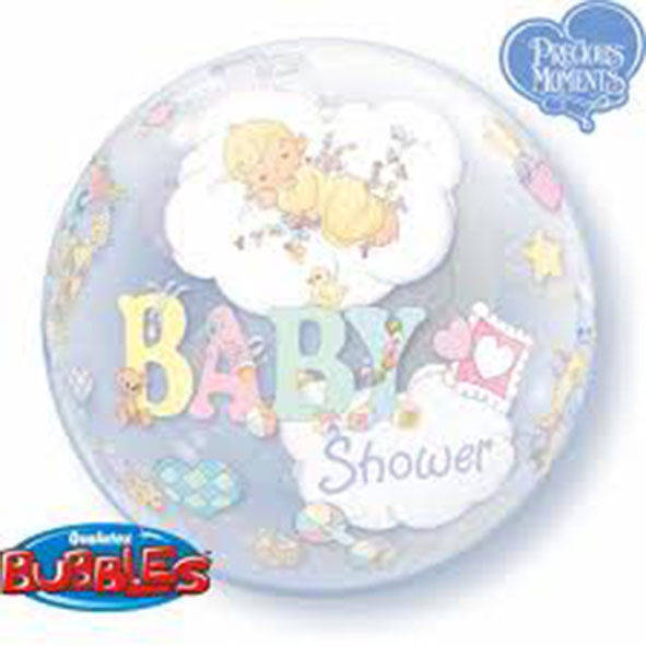 "Bubbles 22"" Baby Shower"