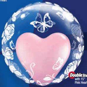 "Pallone Bubbles 24"" Elegant"