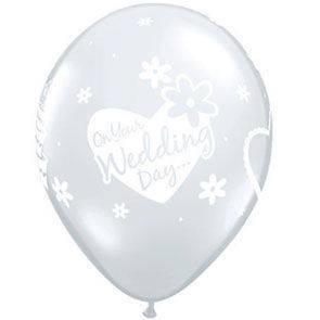 """Palloncini 12"""" Wedding Day"""