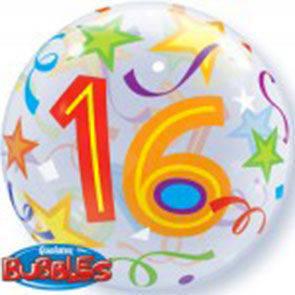"""Bubbles 22"""" 16 Brilliant Stars"""