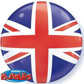 "Pallone Bubbles 22"" Union Jack"